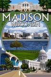 Madison  Wisconsin - Montage Scenes