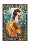 Seaside Heights  New Jersey - Mermaid