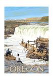 Oregon - Celilo Falls