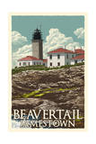 Jamestown  Rhode Island - Beavertail Lighthouse