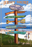 Point Pleasant Beach  New Jersey - Destinations Signpost