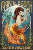 Myrtle Beach  South Carolina - Mermaid