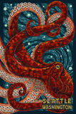 Seattle  Washington - Octopus Mosaic