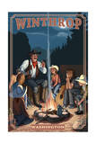 Winthrop  Washington - Cowboy Campfire Story Telling