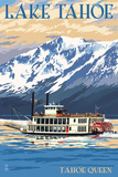 Lake Tahoe - Tahoe Queen Paddleboat