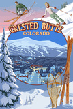 Crested Butte  Colorado - Ski Montage
