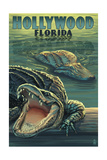 Hollywood  Florida - Alligators