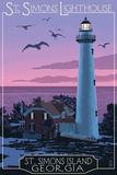 St Simons  Georgia - Lighthouse