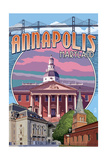 Annapolis  Maryland - Montage