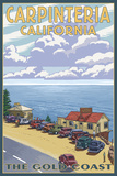 Carpinteria  California - Coastal Scene