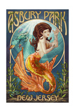 Asbury Park  New Jersey - Mermaid