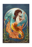 Mermaid (Orange Tail)