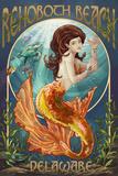 Rehoboth Beach  Delaware - Mermaid