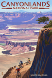 Canyonlands National Park  Utah - Conflunce and Bikers