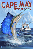 Cape May  New Jersey - Sailfish Deep Sea Fishing