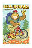 Bellingham  Washington - Bigfoot Bicyle
