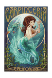 Carpinteria  California - Mermaid