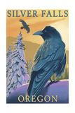 Silver Falls State Park  Oregon - Raven