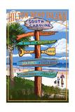 Hilton Head Island  South Carolina - Destination Signs