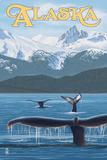 Alaska - Humpback Whale Family