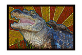 Alligator - Paper Mosaic