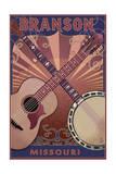 Branson  Missouri - Guitar and Banjo