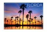 Florida - Lagoon and Sunset