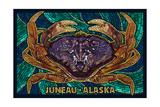 Juneau  Alaska - Dungeness Crab Mosaic