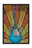 Branson  Missouri - Mosaic Guitar