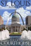 St Louis  Missouri - Courthouse