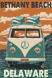 Bethany Beach  Delaware - VW Van