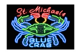Neon Blue Crab - St Michaels  Maryland