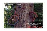 Vashon Island  WA - Bike in the Tree