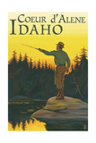 Coeur D'Alene  Idaho - Fly Fishing Scene