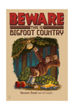 Bigfoot Country - Secure Food Out of Reach