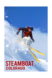 Steamboat  Colorado - Skier