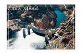 Lake Mead  Nevada - Arizona - Hoover Dam View
