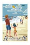 Atlantic City  New Jersey - Kite Flyers