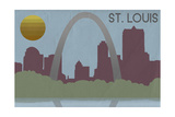 St Louis  Missouri - Skyline