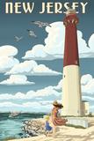 New Jersey - Lighthouse Scene