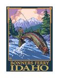 Bonners Ferry  Idaho - Fly Fishing Scene
