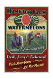 Watermelon Farm - Vintage Sign