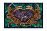 Oregon Coast - Dungeness Crab Mosaic