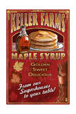 Maple Syrup Farm - Vintage Sign