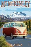 Mount McKinley  Alaska - VW Van
