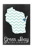 Green Bay  Wisconsin - Chalkboard
