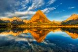 Glacier National Park  Montana - Mt Grinnell