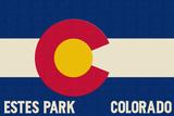 Estes Park  Colorado - Colorado State Flag