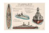 USS Arizona Battleship - Technical