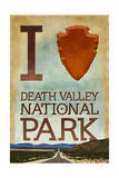 I Heart Death Valley National Park